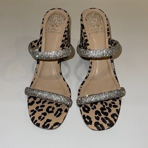 Vince Camuto heels with sexy bling!